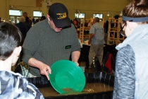 Greenbush Prospectors show how it's done. They're panning for gold.